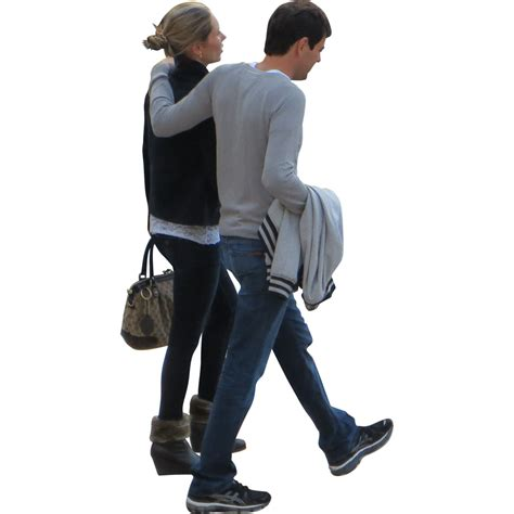 Walking couple people png #32494 - Free Icons and PNG