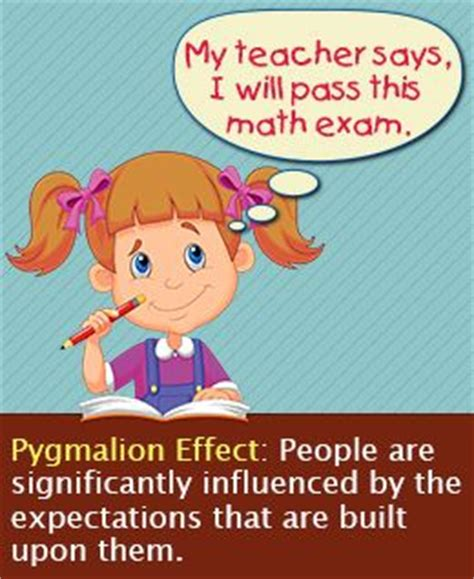 Meaning of Pygmalion effect with examples