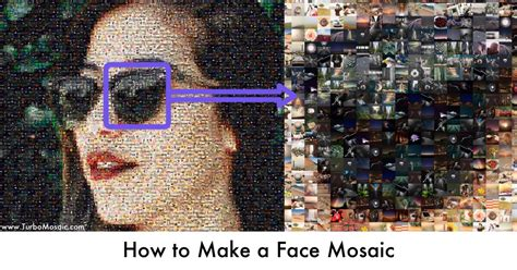 How to Make a Face Mosaic in 90 Seconds | TurboMosaic