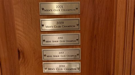 President Trump won club championship without actually