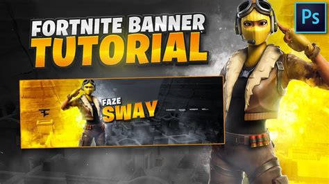 Tutorial: How To Make An EPIC Fortnite Banner In Photoshop