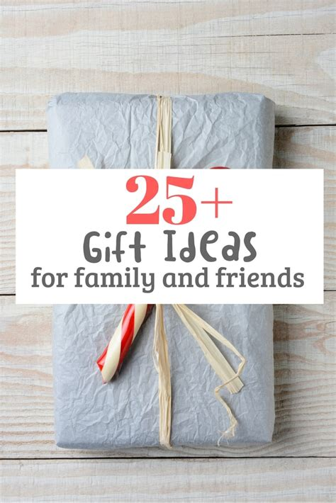 25+ Christmas Gift Ideas for family & friends (under $50