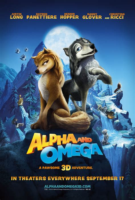Alpha and Omega: High resolution poster – Animated Views