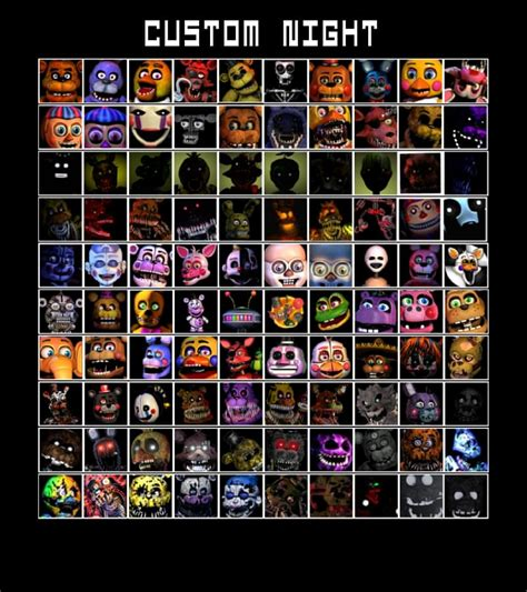 Ultimate Custom Night Fanmade by XephosCrafter (@XxGolden