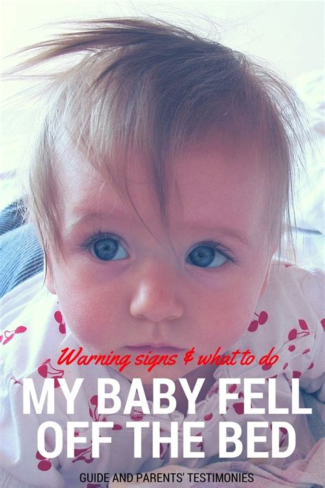 My Baby Fell Off The Bed! - Warning Signs & What To Do Now