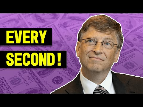 How Much Does Bill Gates Make a Second? - TechTipsUnfold