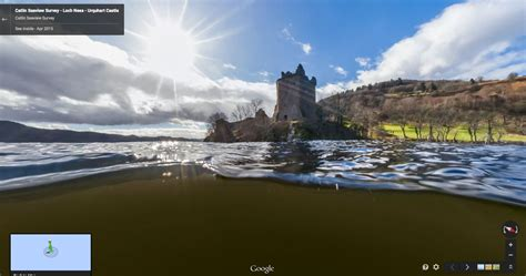 Google Joins the Hunt for the Loch Ness Monster With