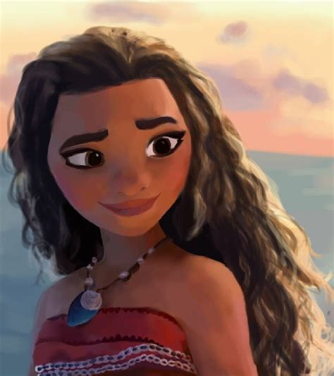 I drew a thing!!! Loving the trailer for Moana, can't wait