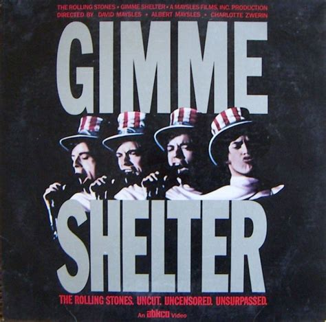 Classic Documentary: The Rolling Stones Gimme Shelter