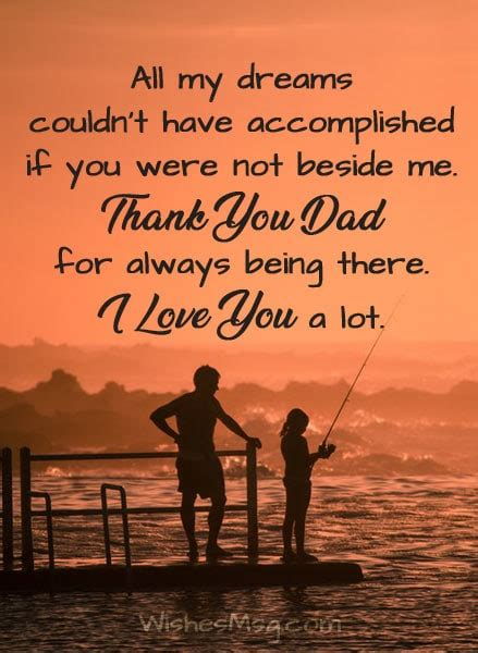 Love Messages for Dad - I Love You Dad Quotes   WishesMsg