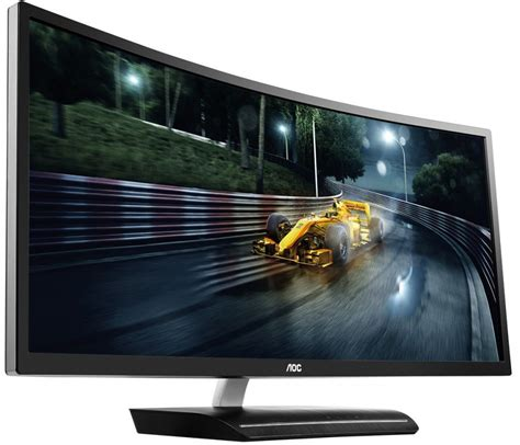 AOC's 144Hz 35-inch curved gaming monitor lands in the U