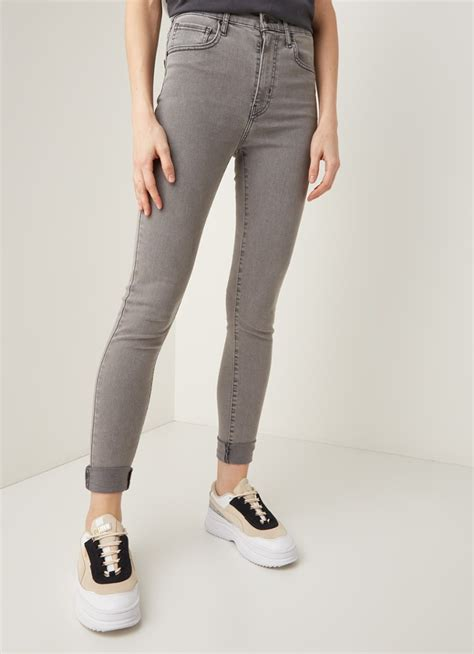 Levi's Mile High high waist skinny fit jeans met stretch