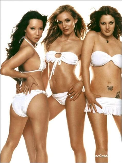 Charlie's Angels: Lucy Lu, Cameron Diaz, and Drew