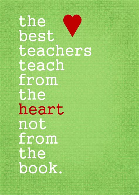 Being A Teacher Quotes