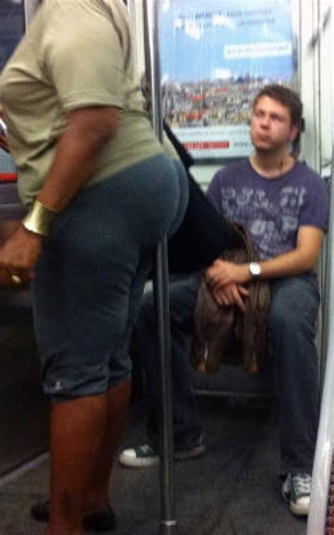 Take the Subway to Walmart and Enjoy the View - Big Butt