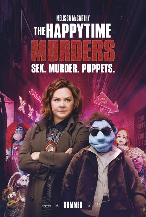 Movie Review - The Happytime Murders (2018)