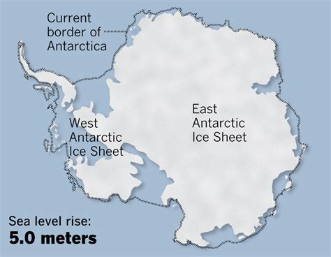 'A dire prediction' on melting ice sheets and rising sea