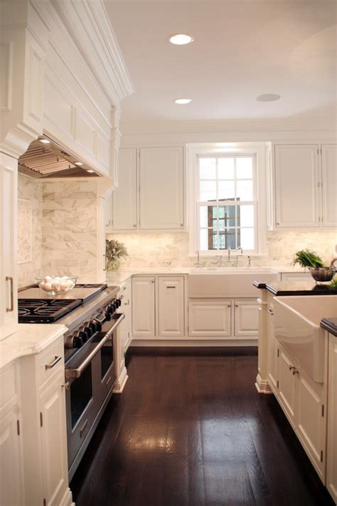 Off White Cabinets - Traditional - kitchen - Farrow & Ball