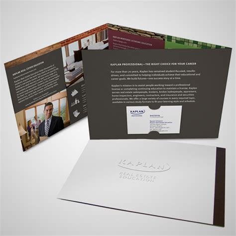 A Collection of Effective Real Estate Brochure Designs and
