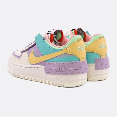 NIKE WOMEN AIR FORCE 1 SHADOW PALE IVORY / CELESTIAL GOLD