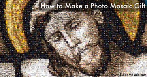 How to Make a Photo Mosaic Gift