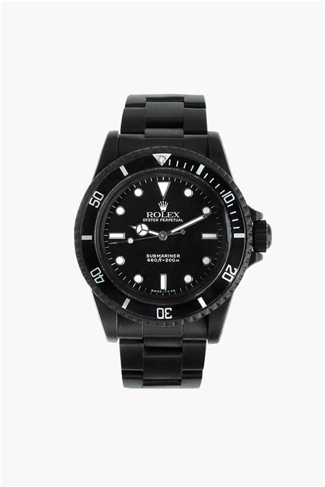 Refurbished Black Limited Edition Rolex Watch Collection